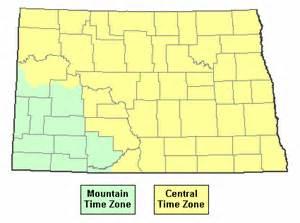 us time zones map dakota current time in dakota