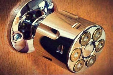Gun Door Knobs by Gun Barrel Door Knob For The Home