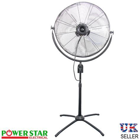 30 inch pedestal fan high power pedestal floor oscillating high velocity