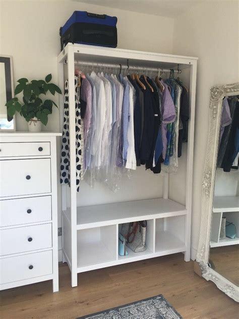 ikea hemnes open wardrobe   assembled  hampstead london gumtree
