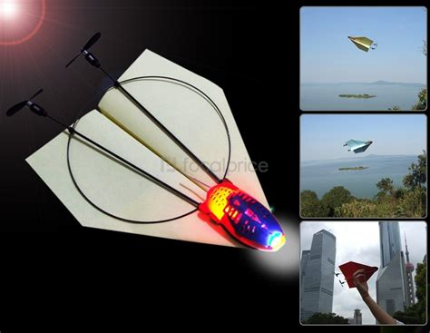 How To Make A Remote Paper Plane - 2 4ghz wireless remote paper airplane with remote