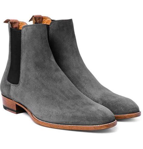 mens grey chelsea boots handmade s fashion gray chelsea boots gray
