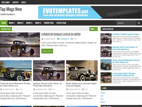 top magz new blogger template blogger templates gallery