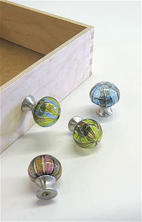 glass drawer pulls by tracy decorative blown