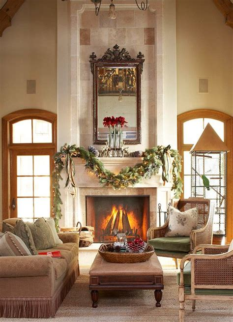 traditional christmas decorating ideas home ifresh design traditional homes mantels and stone mantel on pinterest