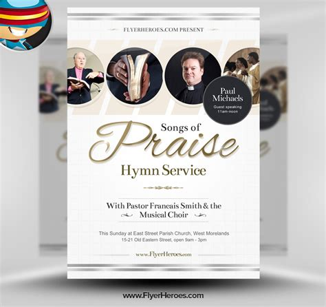 14 Photoshop Template Church Flyers Images Free Psd Church Flyer Templates Church Flyer Christian Flyer Templates Free