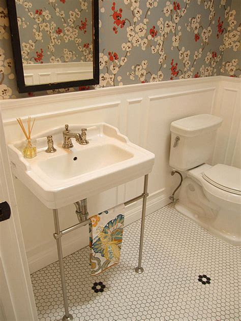 25 astounding bathroom wallpaper ideas creativefan