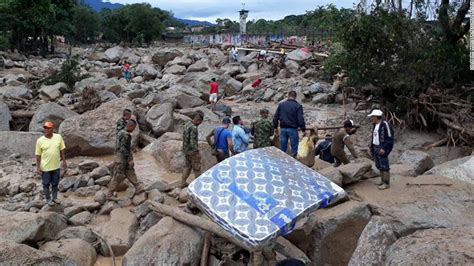 Phone Lookup Colombia Colombia Mudslides More Than 200 Dead Cnn