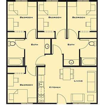Lovely Small 5 Bedroom House Plans #2: D260182f9f0aac605432dedb5e8fad6e.jpg