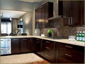 kitchen cabinets and backsplash you assume espresso white cabinet ideas home garden photo