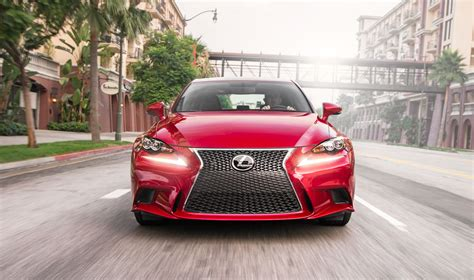lexus matador red lexus is 350 f sport front