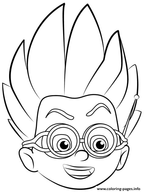 pj masks romeo coloring page romeo pj masks coloring pages printable