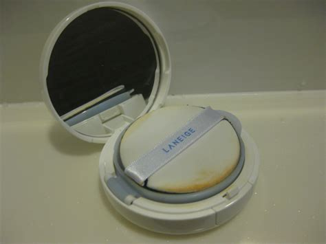 Laneige Snow Bb Cushion apple scents review laneige snow bb soothing cushion
