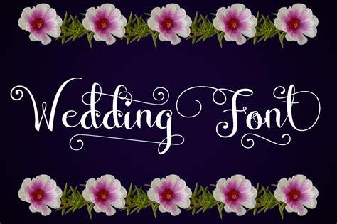 Wedding Font Images by Wedding Font By Darwinoo Font Bundles
