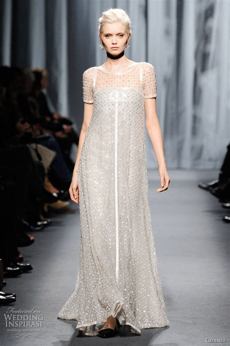 Dres Channel chanel summer 2011 couture wedding inspirasi