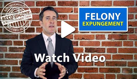 How To Remove A Felony From Your Record California Felony Record Expungement Service