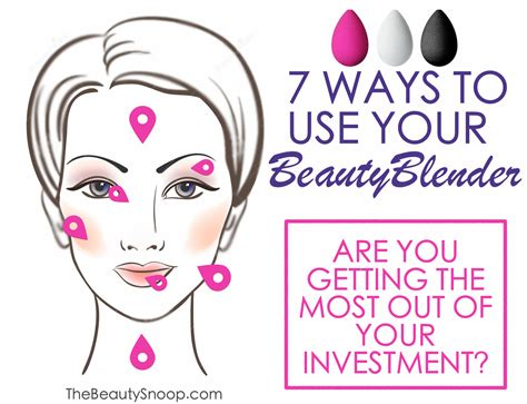 Beauty Blender Giveaway - the beauty snoop 7 ways to use your beauty blender and a giveaway