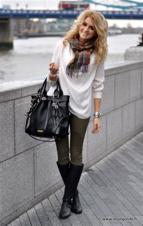 olive white sweater black accents for city