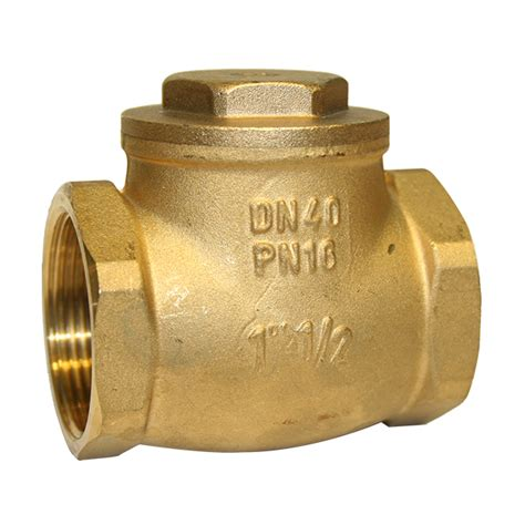 brass swing check valve brass swing check valve metal seat leengate valves