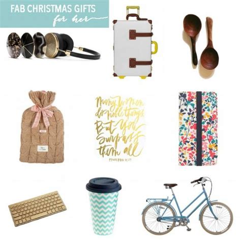 christmas gifts for her friday s fab 5 weddbook
