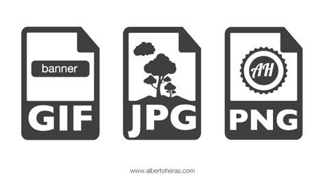 editor de imagenes formato jpg gu 237 a b 225 sica de formatos de imagen para web alberto heras