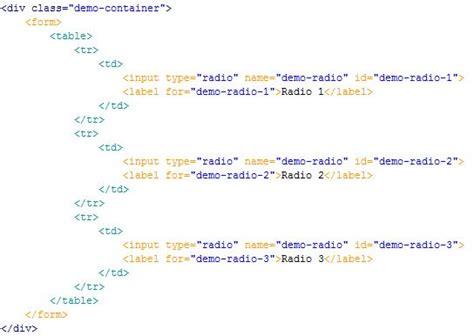 cara membuat html radio button cara merubah desain radio buttons