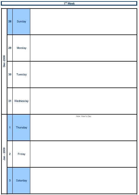 daily planner template word 2014 great weekly calendar 2014 template ideas resume ideas