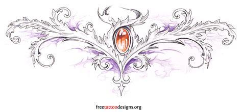 jewels tattoo designs 95 lower back tattoos tr st tribal designs