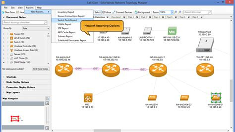 free network topology mapper network mapping network topology software solarwinds