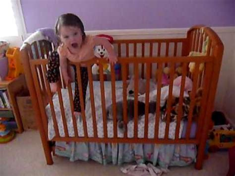 Baby Climbing Out Of Crib Emily Climbing In And Out Of Crib February 1 2009
