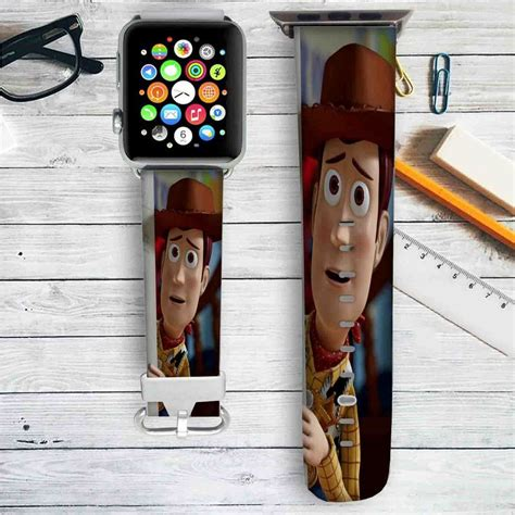 Toystory Woody Bracelet woody story disney custom apple band leather