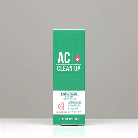 Etude Ac Clean Up etude house ac clean up liquid patch review