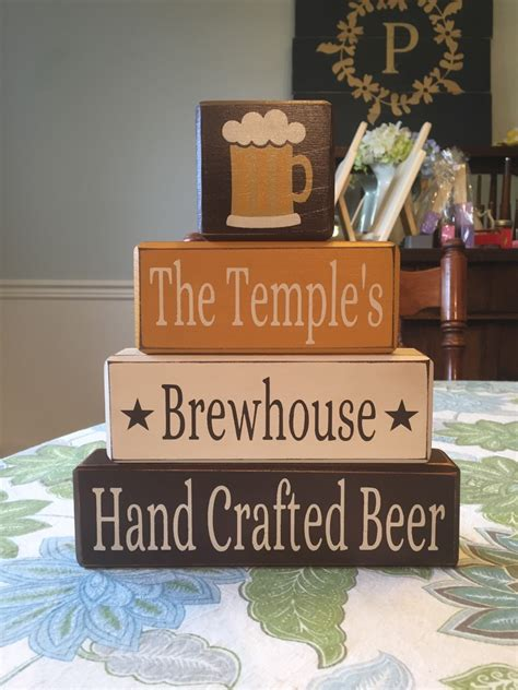 beer home decor personalized craft beer decor home brewers home