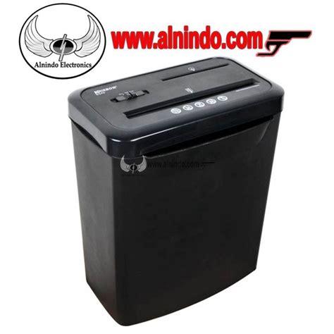 Teko Listrik Krisbow krisbow paper shredder s340 8 sheet black