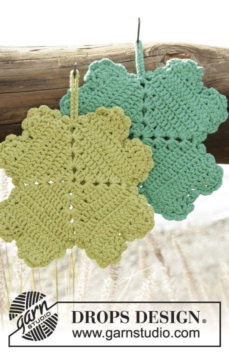 heart pattern xuite drops design pot holders and clovers on pinterest