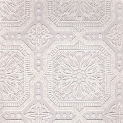 Paintable Ceiling Tiles by Graham Brown 56 Sq Ft 1 Roll Small Ceiling Tile