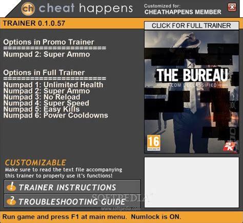 the bureau trainer the bureau xcom declassified 1 trainer