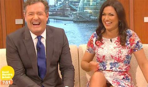 Susanna Reids Pussy - susanna reid flashes her knickers in sexy floral dress on