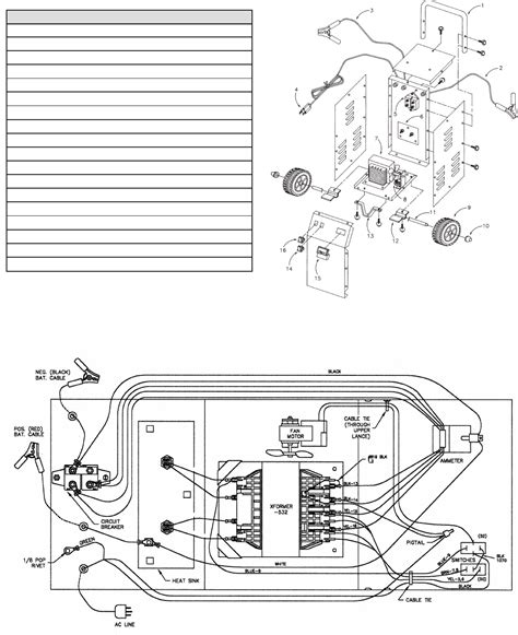 schumacher chargers wiring diagram 28 images schematic