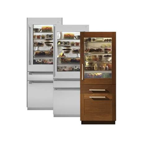 Glass Front Refrigerator For Home by Ge Monogram Glass Door Refrigerators Idea