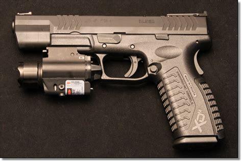springfield xd tactical light update springfield xd m 5 25 9mm 40s w 45acp field