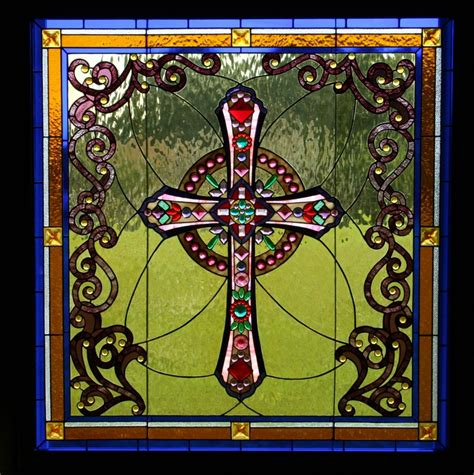 Glass Design For Kitchen Cabinets by Gallery Studio B Stained Glass