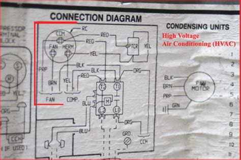 a c compressor capacitor wiring diagram wiring diagrams