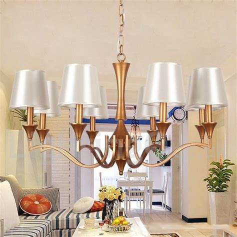 Style Dining Room Chandeliers 8 Light Living Room Dining Room Bedroom Candle Style