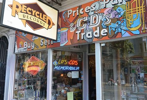 San Francisco Records The Best Remaining Record Stores In America Cool Material