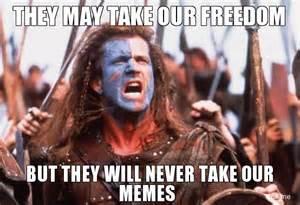 Braveheart Meme - list of non free software for the gcw zero dingoonity