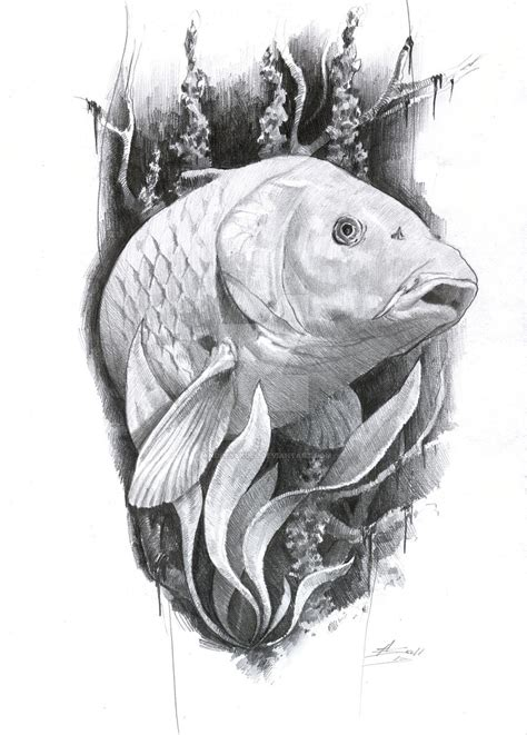carp tattoo by andreyskull on deviantart