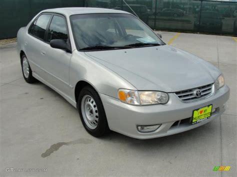 2001 Toyota Corolla S 2001 Silverstream Opal Toyota Corolla S 48328518