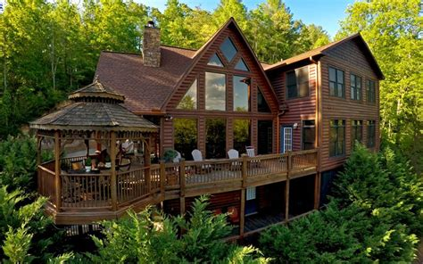 Cabin Property For Sale by Riverfront Log Cabins Homes For Sale
