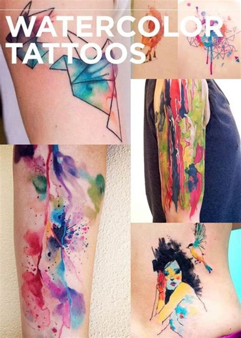 17 Best Images About Tattoo Ideas Don T Tell My Mama On Prismatic Watercolor Tattoos